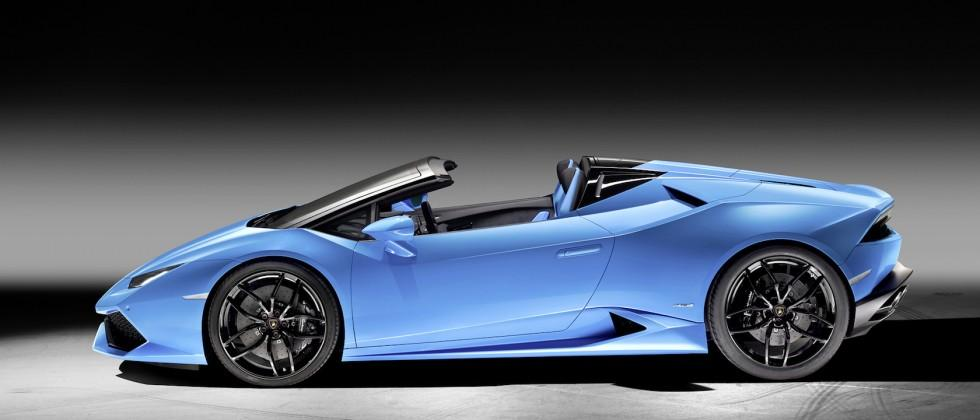 Lamborghini's Huracán LP 610-4 Spyder is 201mph of roofless glee