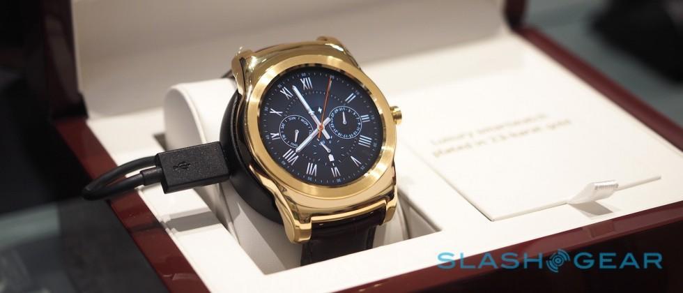 The 23-karat Watch Urbane Luxe is so fancy, even LG only has one