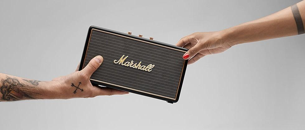 Marshall Headphones Stockwell, a tiny speaker with big sound