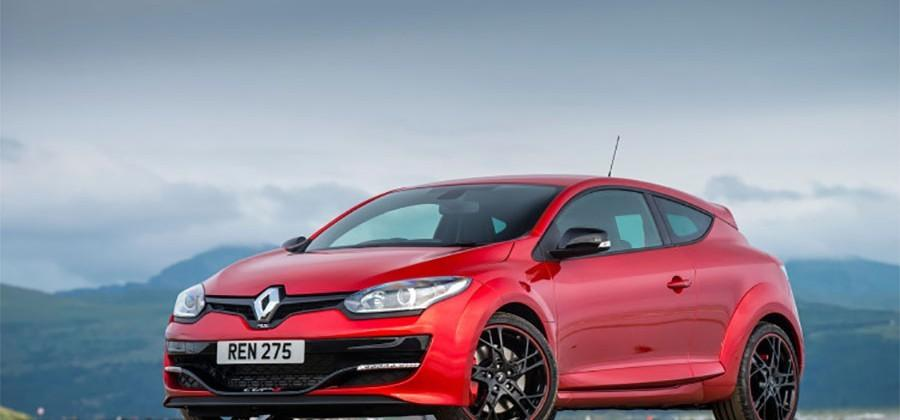 Renaultsport Megane RS 275 Cup-S has 275hp and 265 lb-ft of torque