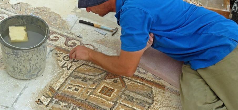 1,500-Year-Old Mosaic Map Reveals Byzantine Israel