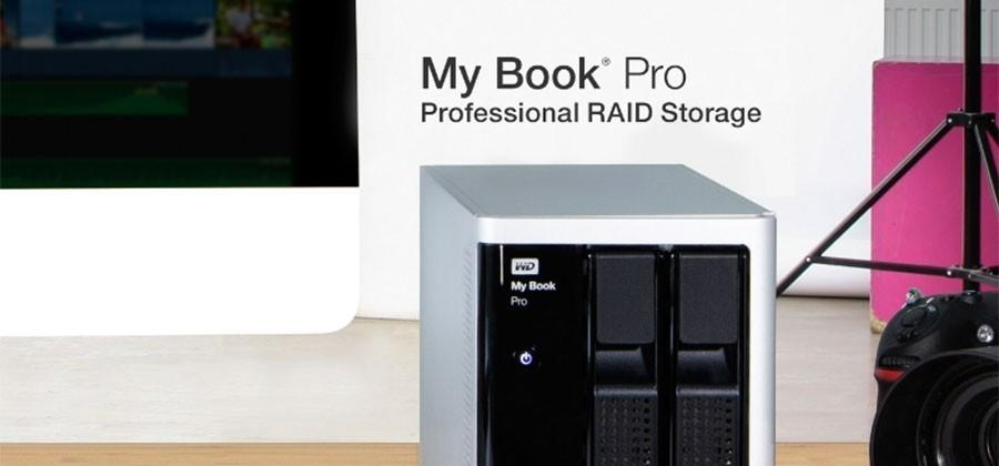 WD My Book Pro RAID storage hides up to 12TB capacity