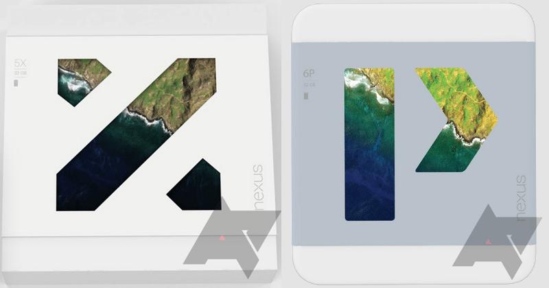 Nexus 6P press photo pops up, retail boxes confirm names