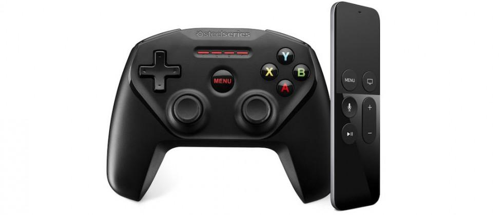 SteelSeries Nimbus: a wireless game controller for new Apple TV