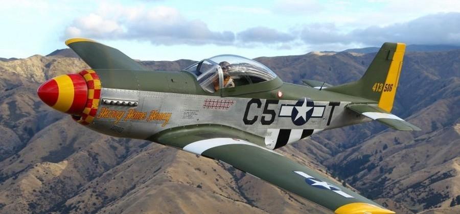 P-51 Mustang Replica plies the skies with Honda Odyssey V6 power