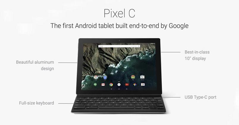 This is Pixel C: Google's premium Android 2-in-1