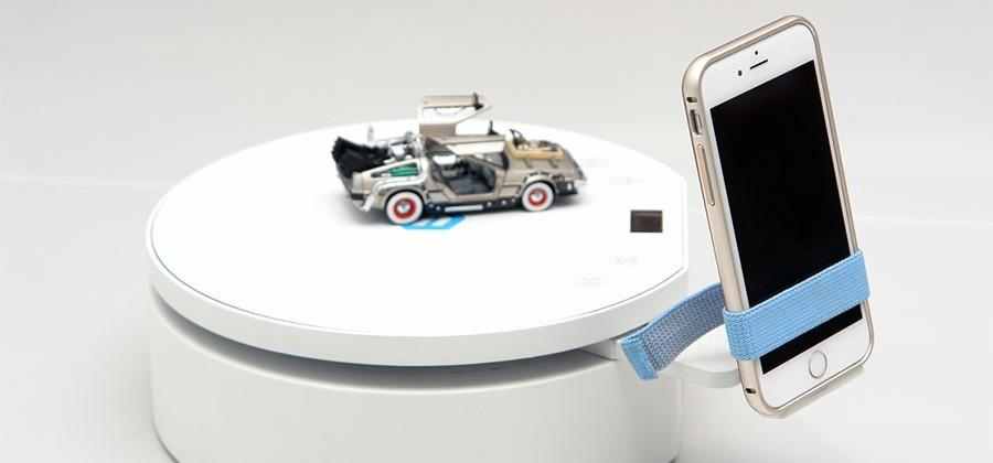 Pixelio uses your smartphone to make a 3D scanning turntable