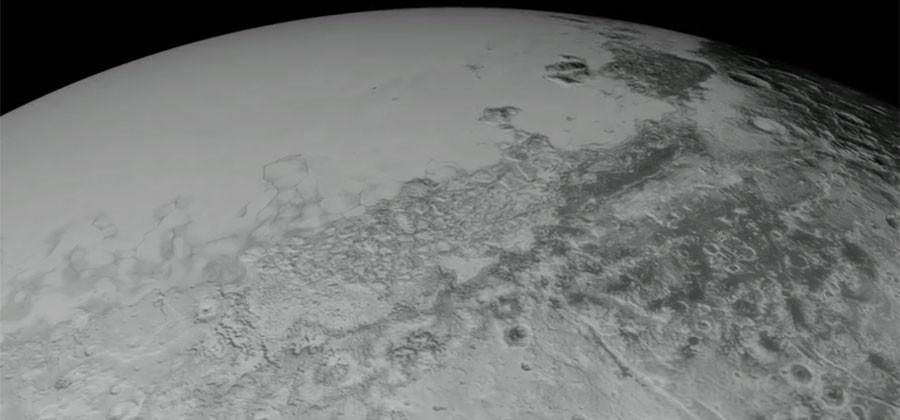 NASA creates Pluto aerial tour with New Horizons images