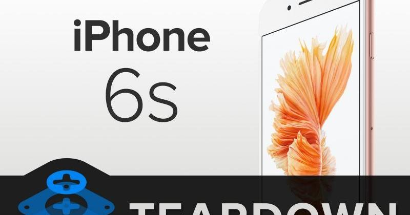 iPhone 6s teardown: taptic engine to blame for smaller battery