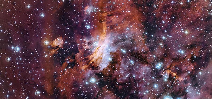 Prawn Nebula spits out new stars like a cosmic recycling center