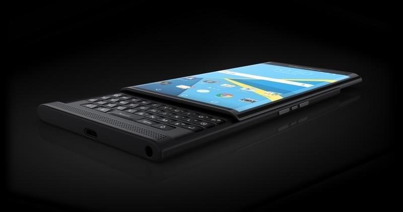 BlackBerry shares rendered images of the PRIV smartphone