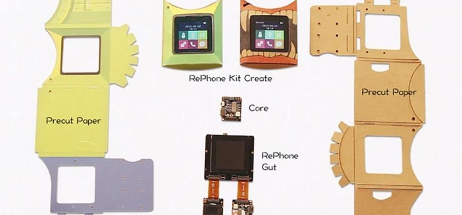 RePhone Kit is an open source modular mobile phone - SlashGear