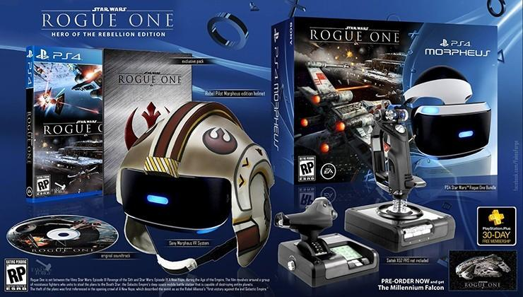 Star Wars Rogue One PS4 VR helmet bundle is fake, but not that far off