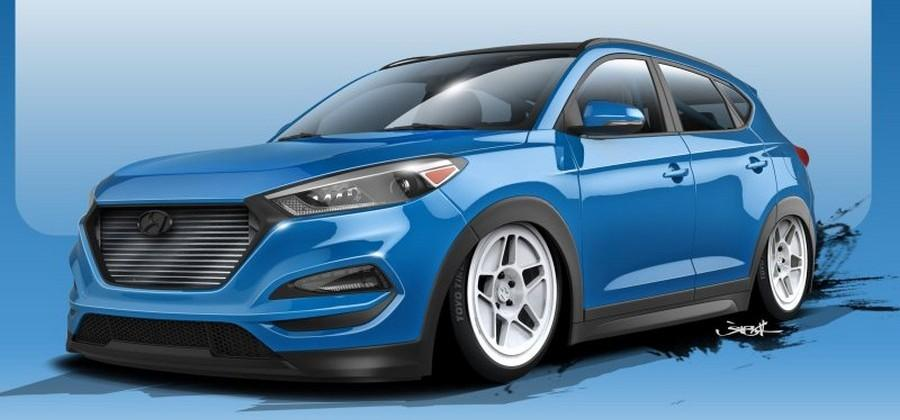 "Hyundai Teases 700hp SEMA SUV dubbed ""Brute Ute"""