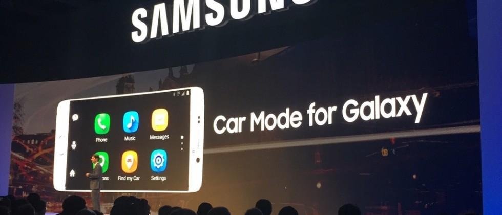Samsung Car Mode for Galaxy sees Note 5 take on CarPlay