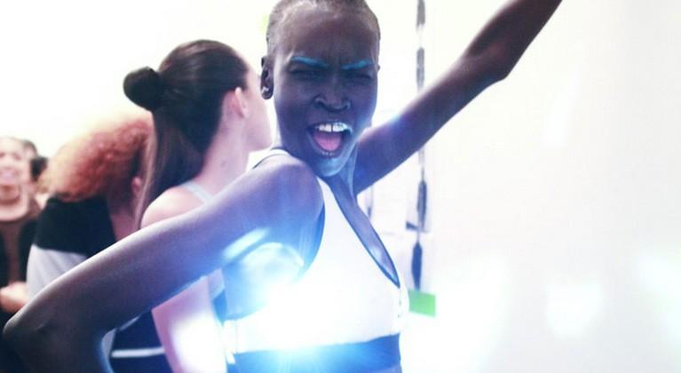 Intel's Curie tech powers cooling vents in sports bra