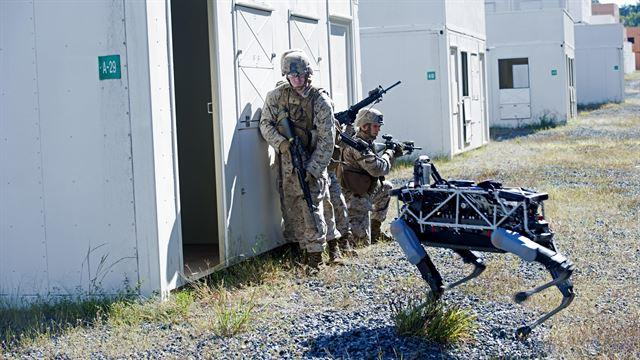 Boston Dynamics' Spot robo-dog being tested by Marines