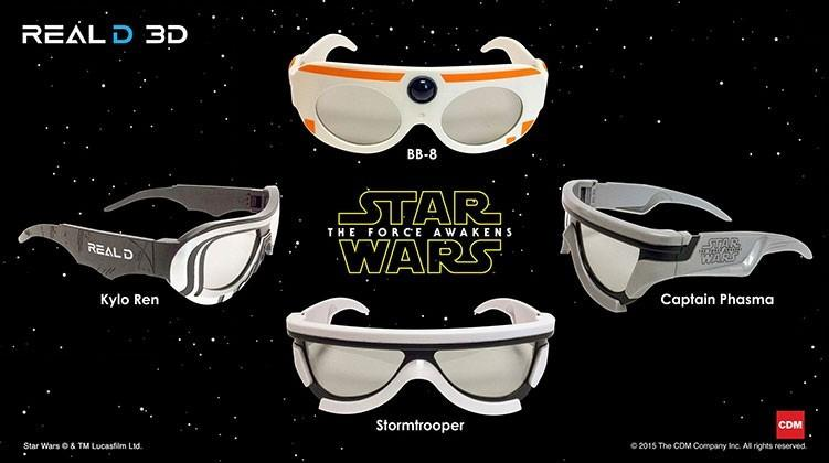 100 day Star Wars The Force Awakens countdown begins in 3D