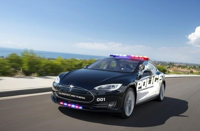 LAPD adding Tesla Model S P85D to its growing EV fleet