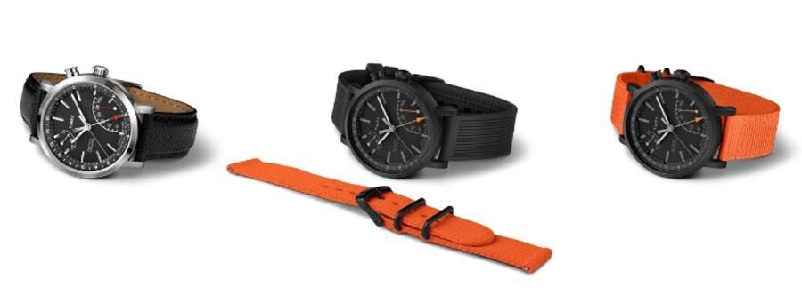 Timex Metropolitan+ watch tracks activity via smartphone app