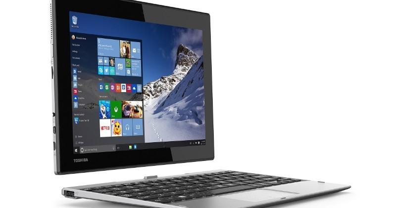 Toshiba Satellite Click 10 puts Windows 10 in a budget 2-in-1