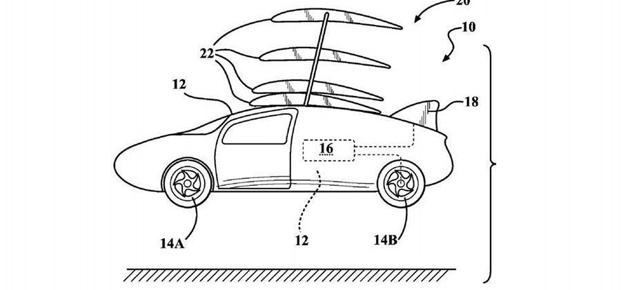 Toyota patent app highlights flying car dreams
