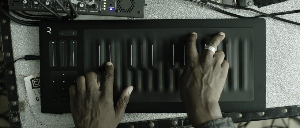 ROLI Seaboard RISE is like 3D Touch for musicians