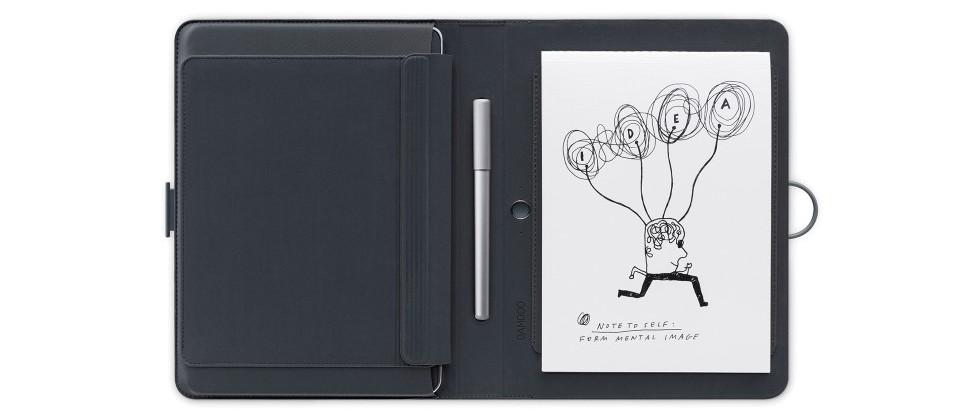 Wacom Bamboo Spark turns ink on paper into digital notes