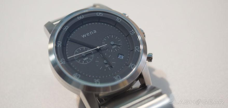 Sony WENA watch hands-on