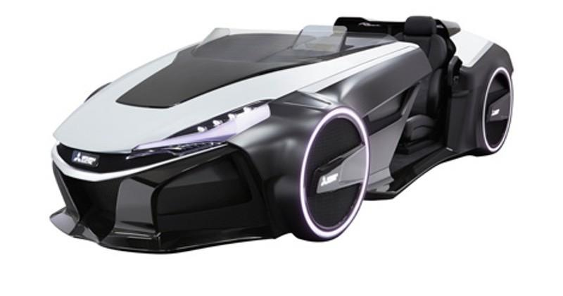 Mitsubishi EMIRAI 3 xDAS concept can sense drivers' condition