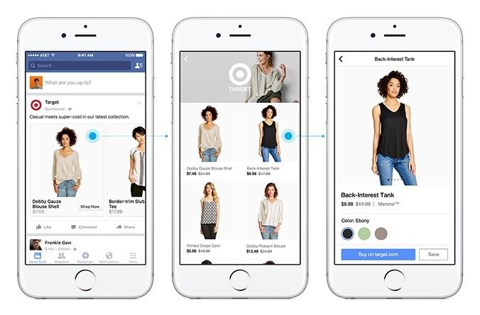 Facebook adds dedicated shopping feed to mobile app