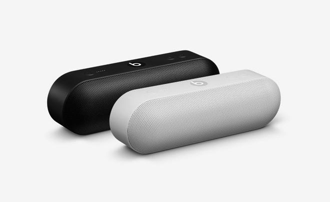 Beats Pill+ wireless speaker features an Apple-inspired design