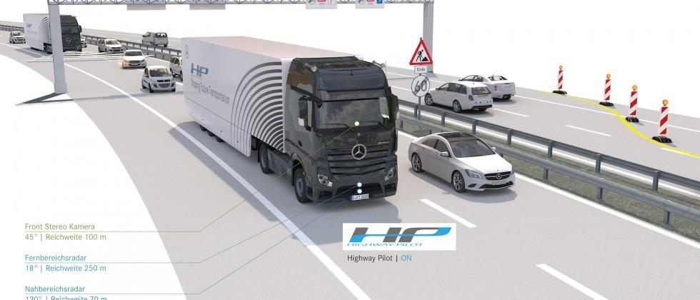 Autonomy on the Autobahn: Daimler tests its self-driving truck