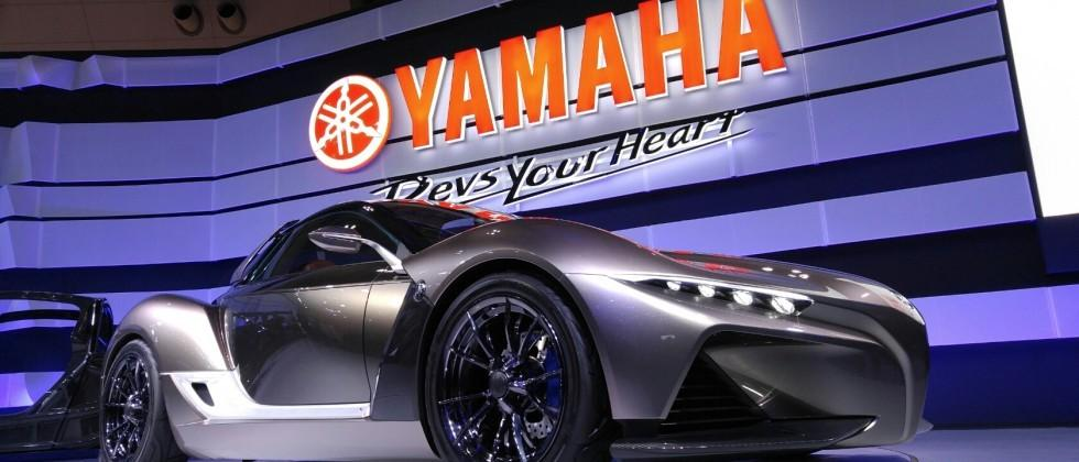Yamaha Sports Ride Concept is a Four Wheel Carbon Fiber Sports Car