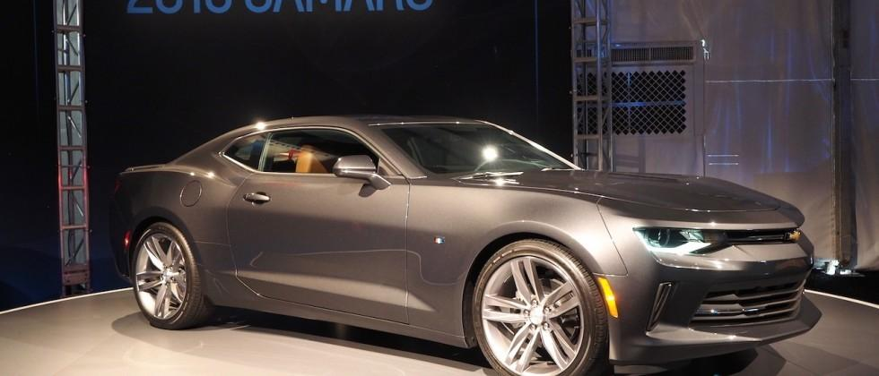 Chevrolet finished the first batch of 2016 Camaros