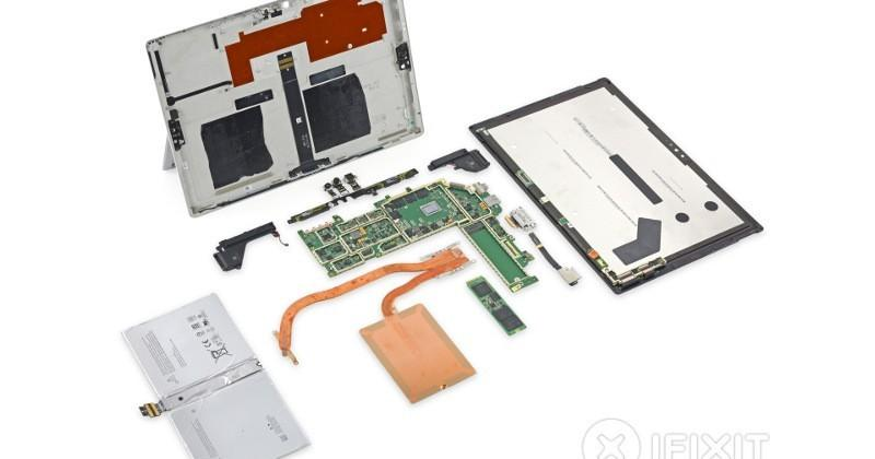 Surface Pro 4 iFixit teardown earns a terrible score of 2