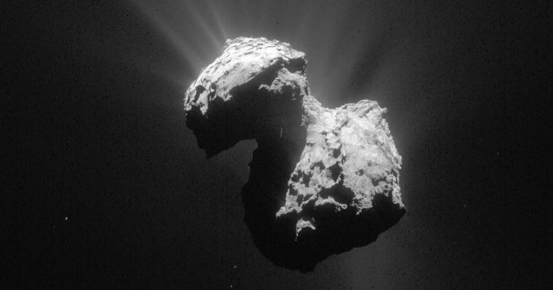 Comet 67P's oxygen challenges our views of the solar system