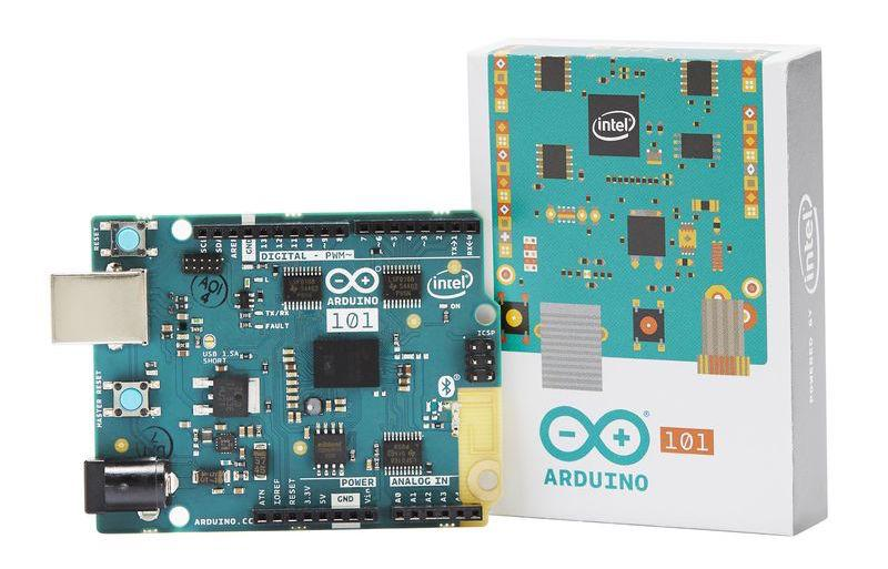 Intel Curie chip arrives on Arduino 101 board