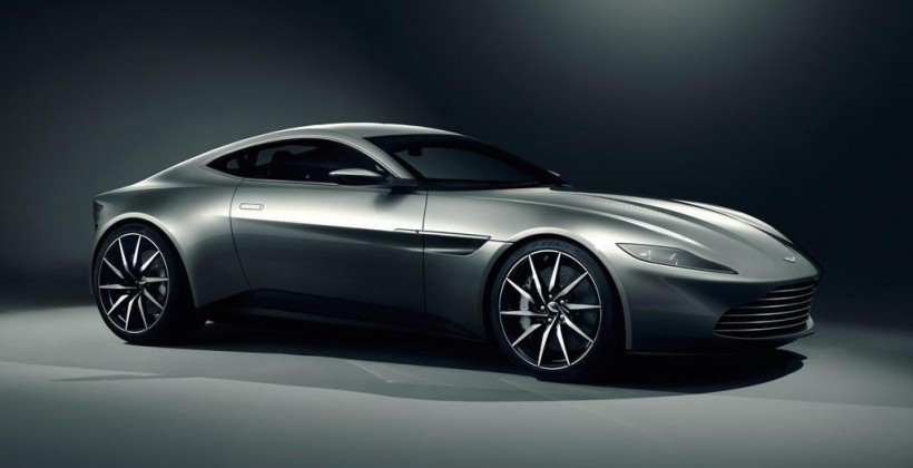Jay Leno Drives the Aston Martin DB10 Fresh from the set of Spectre