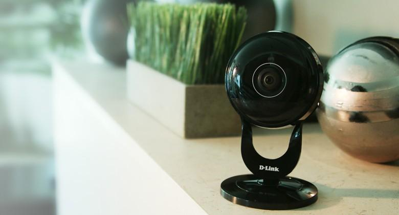 D-Link's new security cameras offer ultra-wide-angle lenses