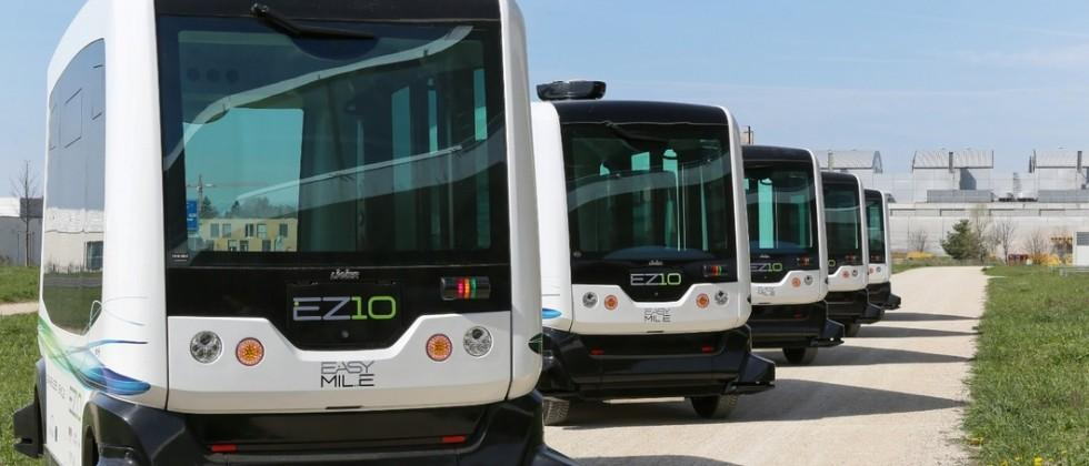 Electric driverless bus to operate in California, Singapore