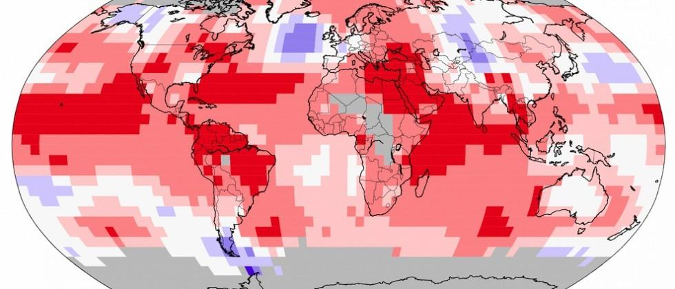 September 2015 sets new 'hottest month' record