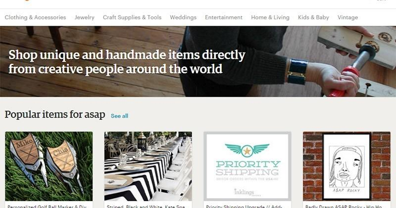 Etsy ASAP takes on Amazon with same-day delivery