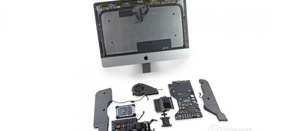 New 21.5-inch Retina iMac gets iFixit teardown, revealing non-upgradeable RAM
