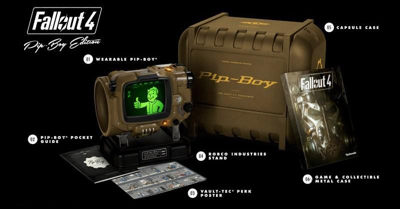 Fallout 4 Pip-Boy Edition is back in stock