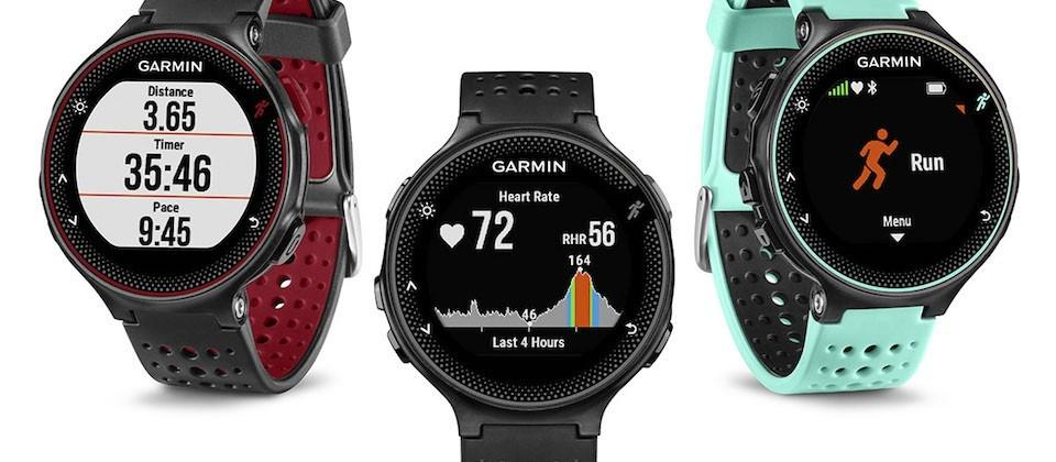 Garmin debuts new Forerunner fitness watches with heart rate monitor