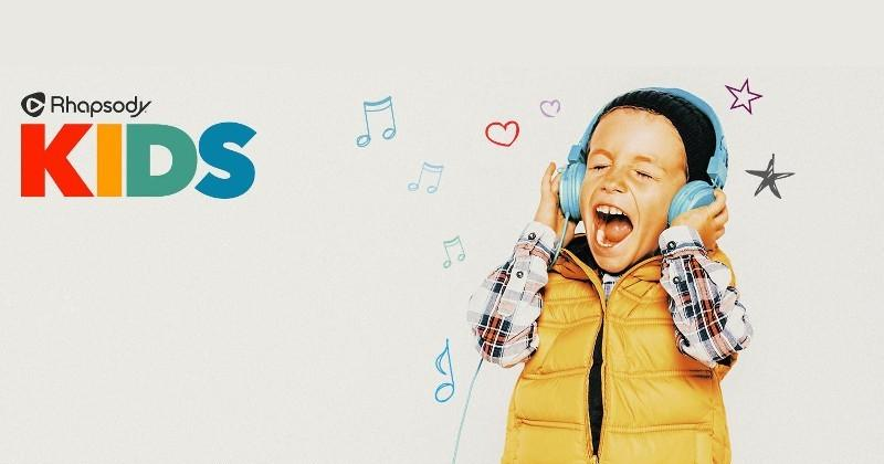 Rhapsody launches KIDS mode to wean toddlers on streaming