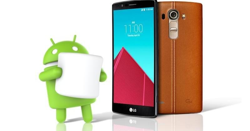 LG G4 first non-Nexus to get Android 6.0 Marshmallow