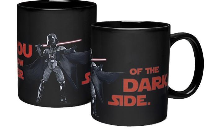 Star Wars mugs change design when hot