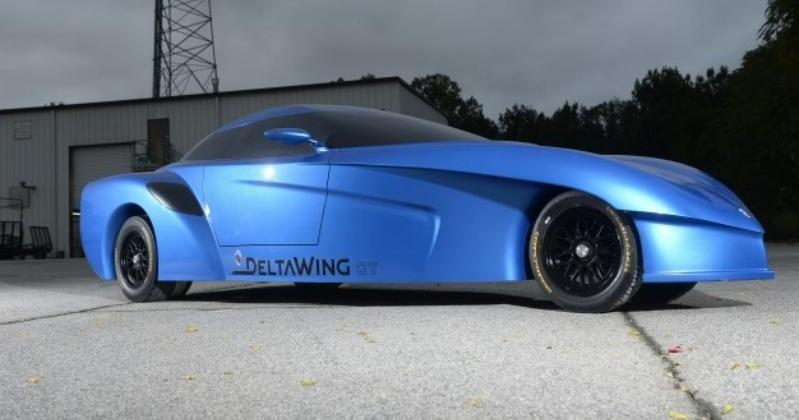 Panoz unveils two-seat arrow-shaped DeltaWing GT concept